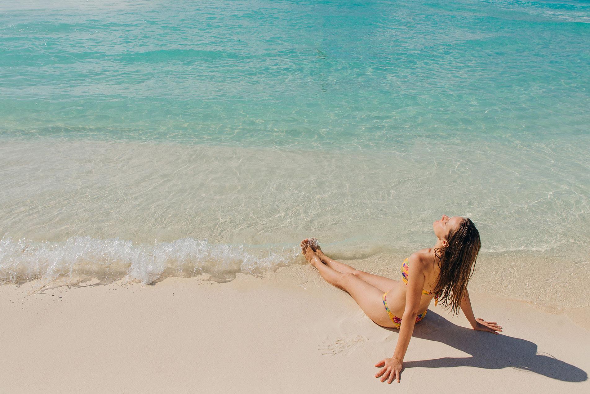 Tan Beach Mexico
