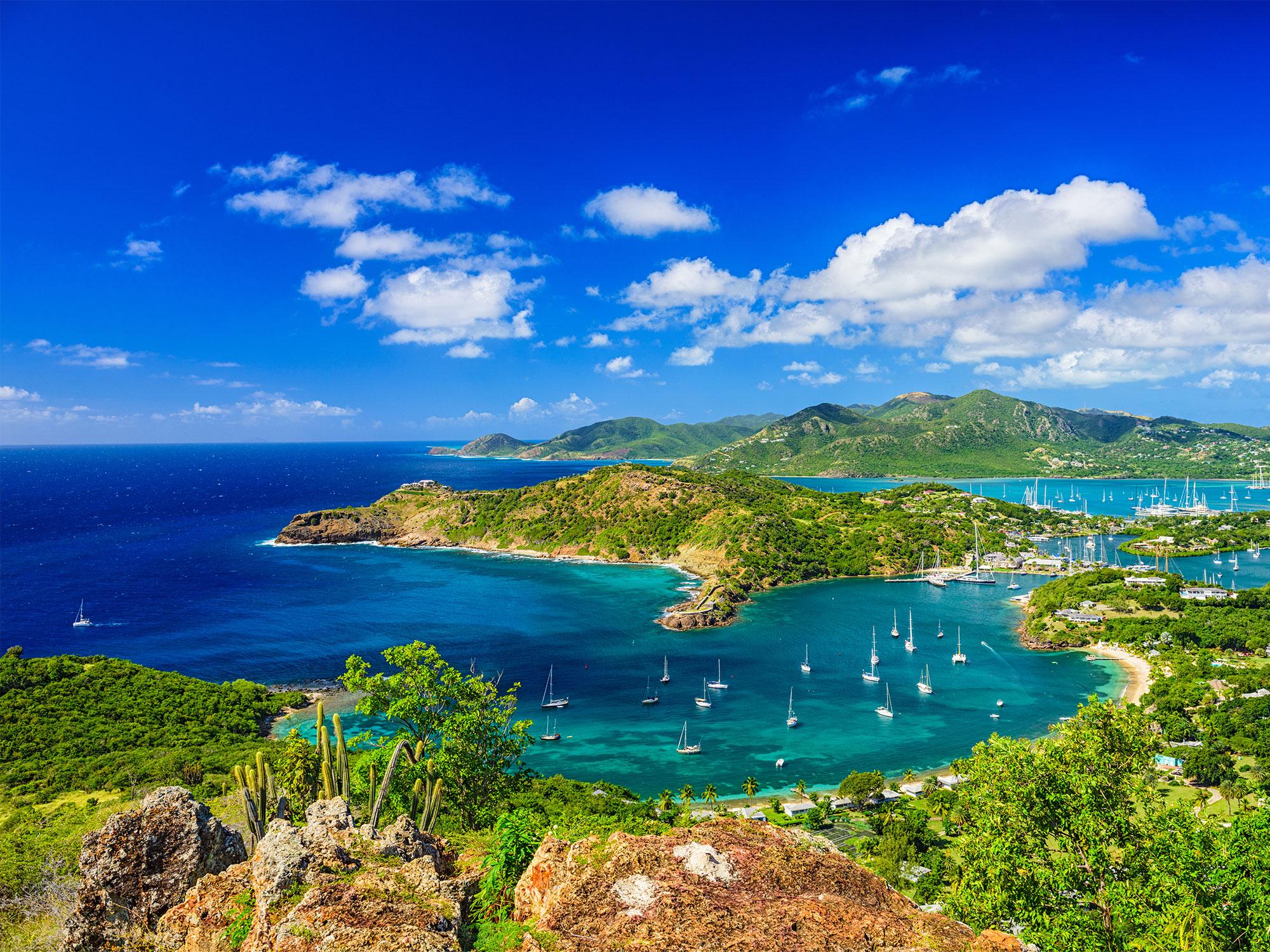 Ocean overlook in Antigua