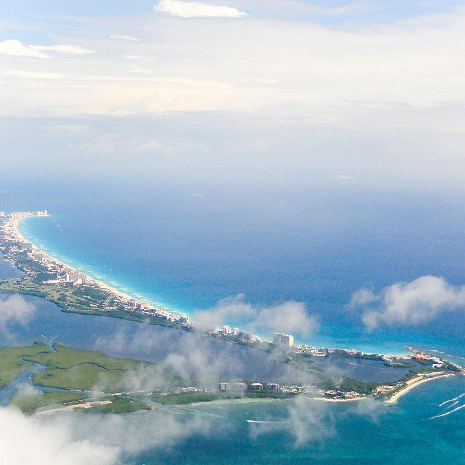 Beach vacation in cancun