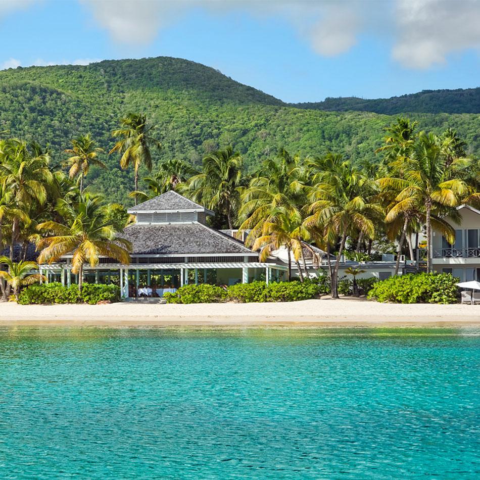 Ocean view of Carlisle Bay Resort in Antigua