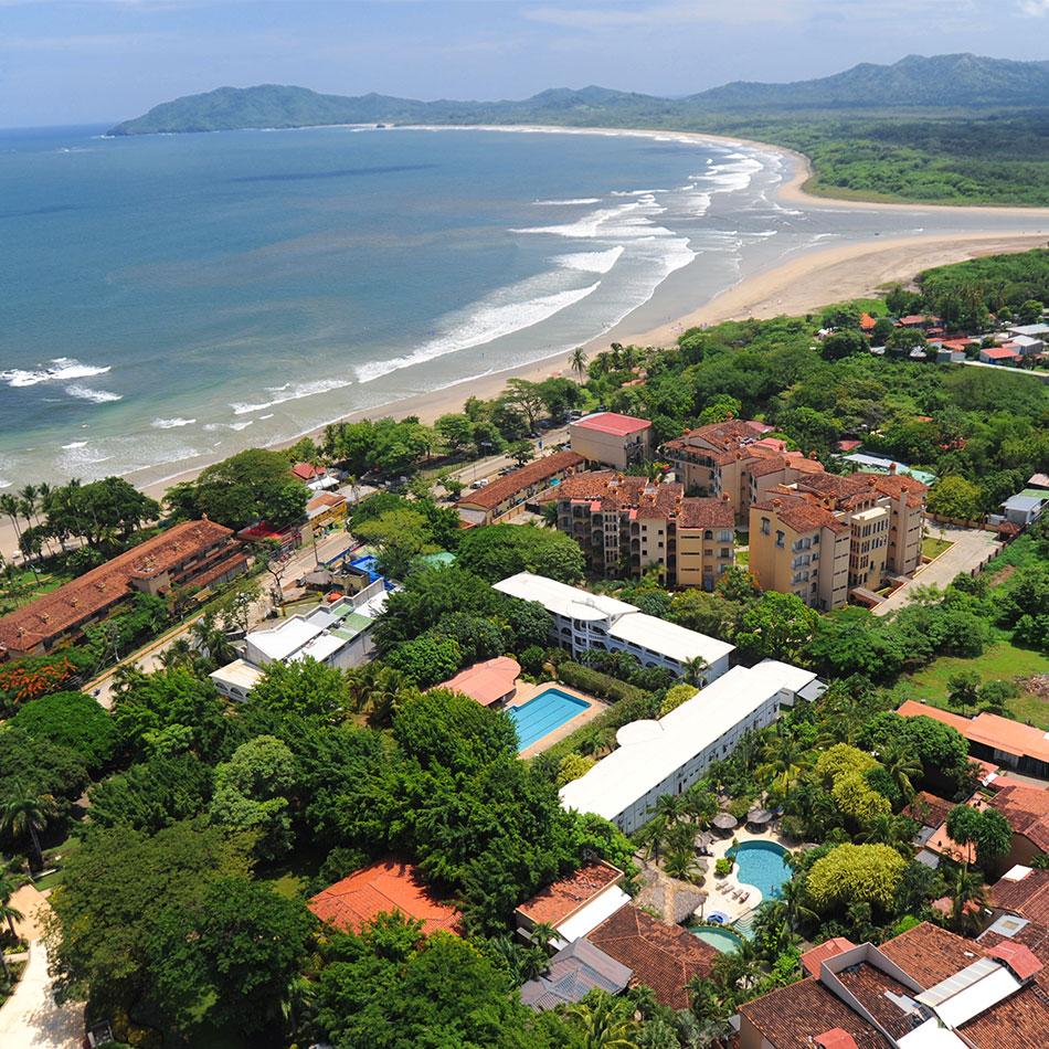 Beach resort in Cost Rica