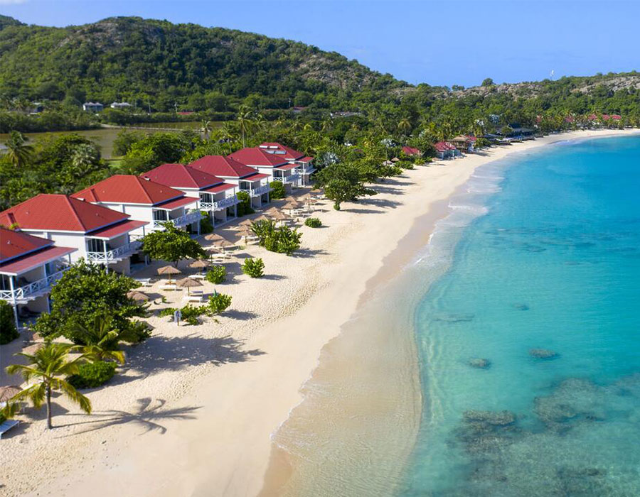 Galley Bay Resort in Antigua on the beach
