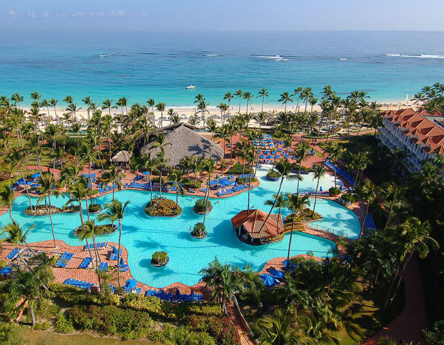 The Hotel Occidental Caribe in Punta Cana