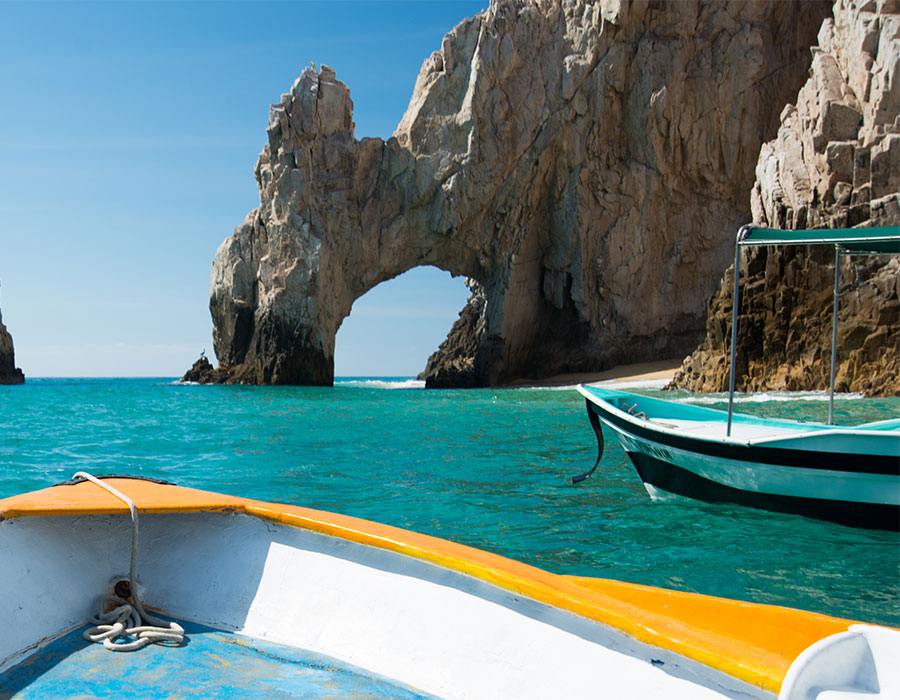 Boating in Cabo Mexico
