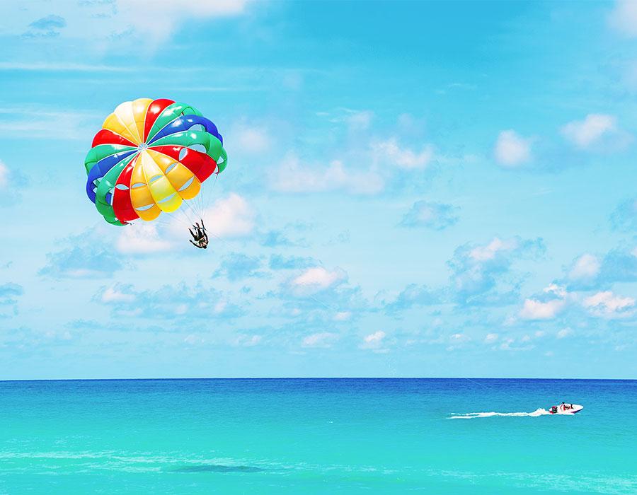 Parasailing in Punta Cana