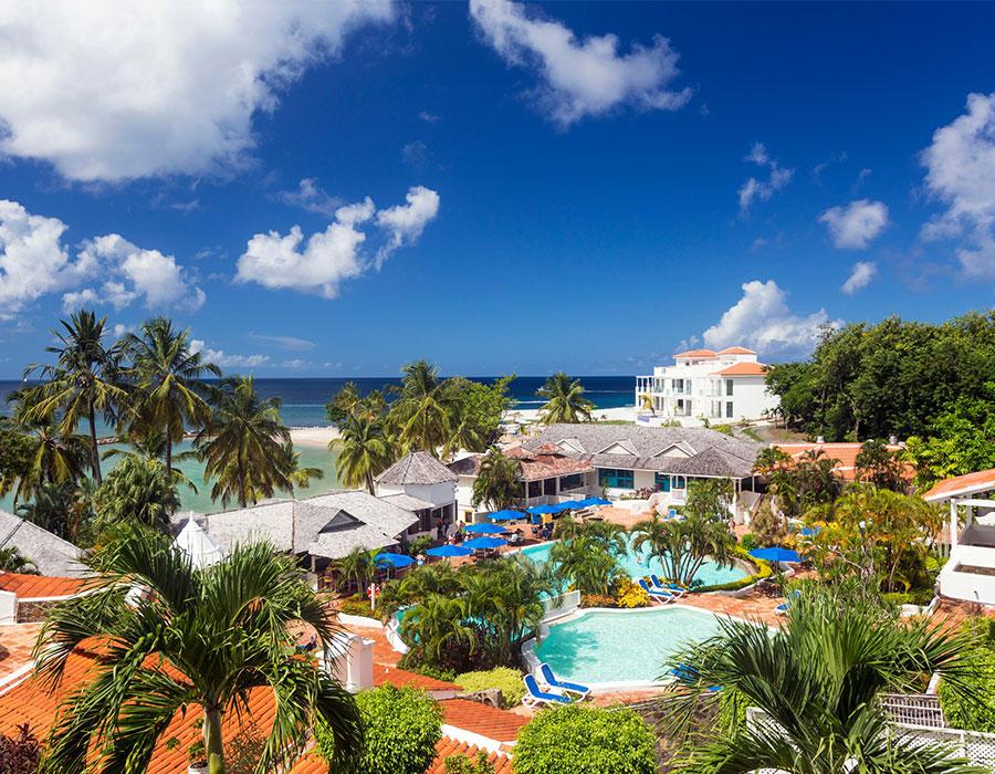 St. Lucia resort Windjammer Landing