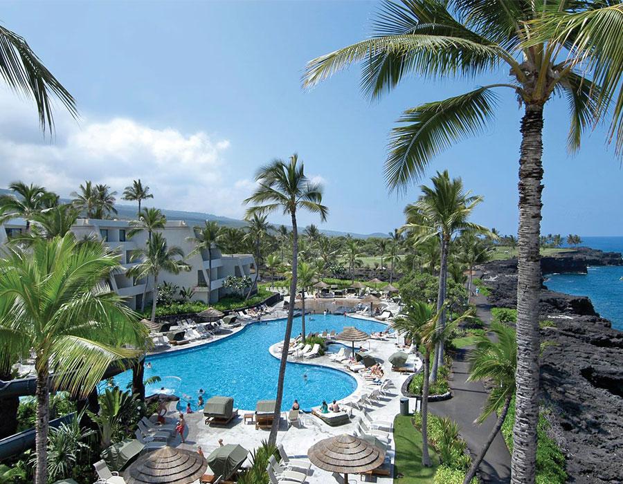 All inclusive resort on the Big Island of Hawaii